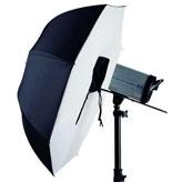 Softbox Paraplu's