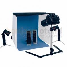 Opvouwbare Mini Fotostudio 60x60 cm met Licht
