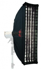 Falcon Eyes FER-SB30160HC Striplight Softbox met Honingraat