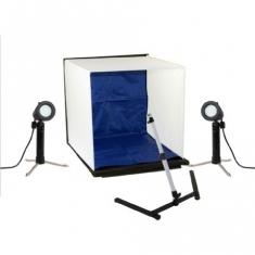 Opvouwbare Mini Fotostudio Basic 40x40 cm met LED-Licht