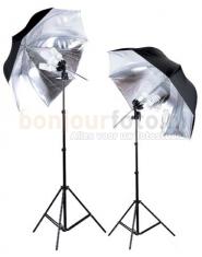 Linkstar LHK-4U Daglichtset met Paraplu's