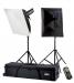 Falcon Eyes TFK-2600L Fotostudio Flitsset met LCD