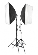 BonjourFoto ValuLine BFS-25040 Softboxen-Set 2x40W