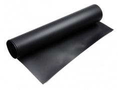 PVC Fotostudio-achtergrond Zwart 100x130cm