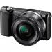 Sony Alpha A5000 ICL systeemcamera Zwart + 16-50mm OSS
