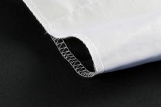 BonjourFoto Valuline 2-in-1 Achtergronddoek 2,9x5 m Wit/Zwart
