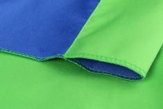 BonjourFoto Valuline 2-in-1 Achtergronddoek 2,9x5 m Blauw/Groen