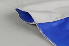 BonjourFoto Valuline 2-in-1 Achtergronddoek 2,9x5 m Blauw/Grijs