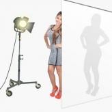 BonjourFoto Semitransparante Polyester Achtergrond 1,5x5,5m