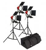BonjourFoto ValuLine Halogeen Studiolampenset 800W