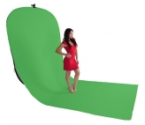 BonjourFoto ValuLine Opvouwbare Achtergrond Chroma-green 4x1,5m