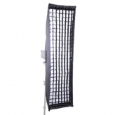 BonjourFoto ValuLine Striplight Softbox met Grid 35x140 cm