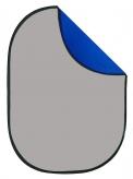 Falcon Eyes BCP-07-03 Opvouwbare Achtergrond Blauw/Grijs