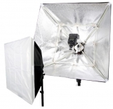 Falcon Eyes FASB-5050 Opvouwbare Softbox voor Cameraflitser