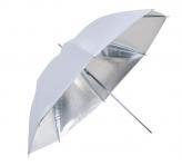 Falcon Eyes UR-48S Flitsparaplu Zilver 100 cm