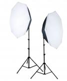 Falcon Eyes LHDK-2B455 Daglichtlampen Set