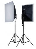Falcon Eyes LH-ESB5050K2 Continulicht Set 2x40W