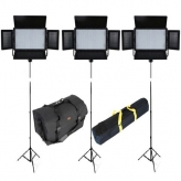 Falcon Eyes LPW-600TD Bi-Color LED-lampenset 2