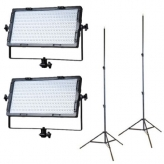 Falcon Eyes LPW-820TD Bi-Color LED-lampenset