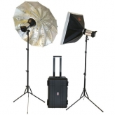 Falcon Eyes Satel One Kit HSS-Studioflitsset op Accu
