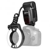 Kenro KFL201N TTL Macro Ringflitser voor Nikon