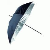 Linkstar PUR-84SB Flitsparaplu Zilver/Zwart 100 cm
