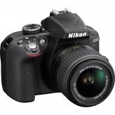Nikon D3300 Kit AF-P 18-55 VR zwart