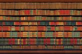 Fotostudio Achtergrondfoto op Vinyl - Boeken 2