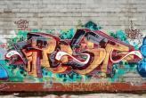 Fotostudio Achtergrondfoto op Vinyl - Graffiti 1