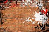 Fotostudio Achtergrondfoto op Vinyl - Graffiti 12