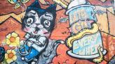 Fotostudio Achtergrondfoto op Vinyl - Graffiti 14