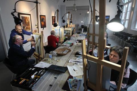 Dag Licht Lamp : Falcon eyes daglicht set voor schilderen bonjourfoto webshop