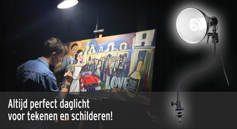 Dag Licht Lamp : Daglichtlampen voor schilderen en hobby bonjourfoto webshop